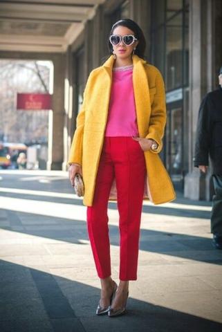 Abbinare i colori outfit Triade