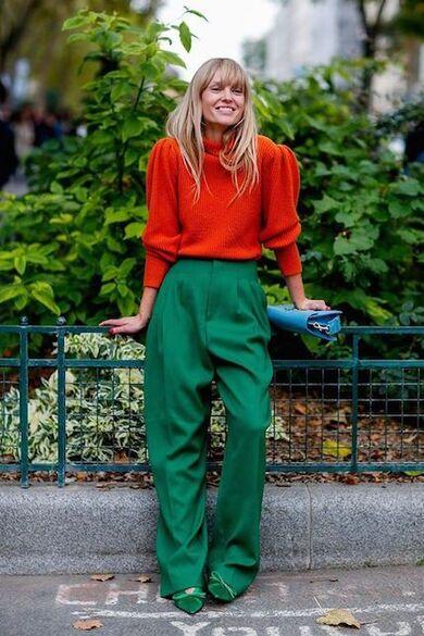 come abbinare i colori complementari nell'abbigliamento