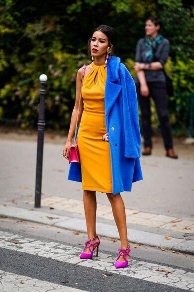 come abbinare i colori nell'abbigliamento triade look
