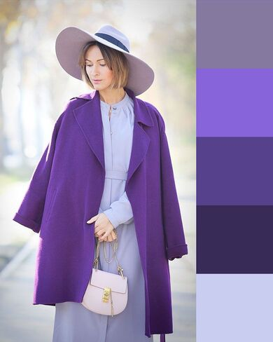 come abbinare i colori simili nell'abbigliamento